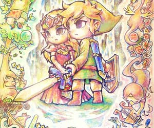 link, wind waker, and nintendo image