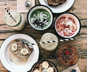 brunch, cereals, and coffee image