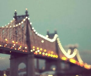 lights, new york, and places image