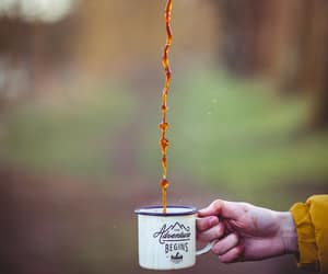 adventure, cup of coffee, and coffee image