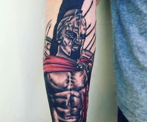 300 and tattoo image