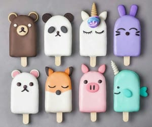 food, animal, and ice cream image
