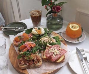 breakfast, delicious, and vegetables image
