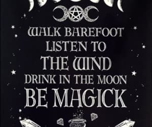 magic, moon, and quote image
