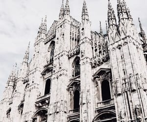 architecture, buildings, and milan image