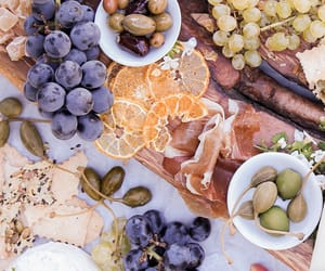 food, delicious, and grapes image