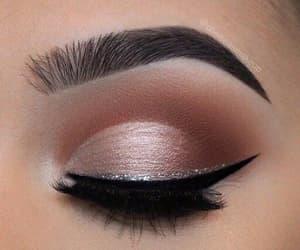 eye, make, and make up image