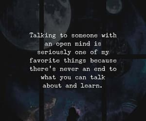 talking and open mind image