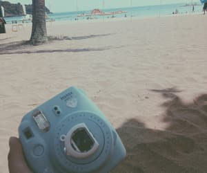 beach, camera, and lovely image