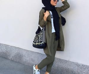 hijab, fashion, and modesty image