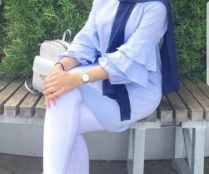 fashion, hijab, and hijabista image