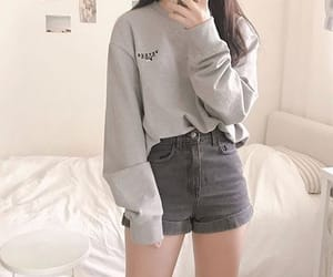outfit, asian, and clothes image
