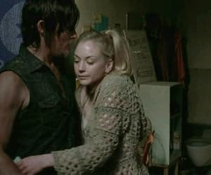 gif, norman reedus, and emily kinney image