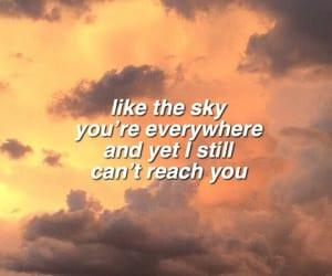 carefree, clouds, and Lyrics image