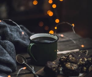 coffee, warmth, and winter image