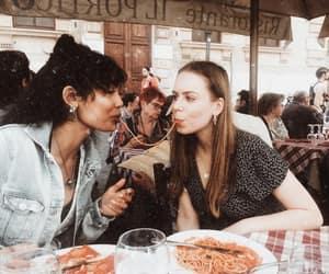 best friends, denim jacket, and fashion image