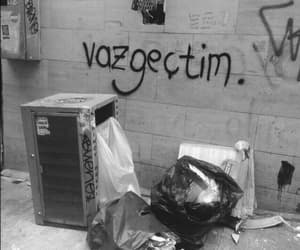 graffiti, tumblr, and vazgeçtim image