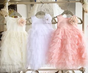 baby, beauty, and dresses image