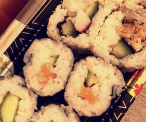 addicted, lover, and sushi image