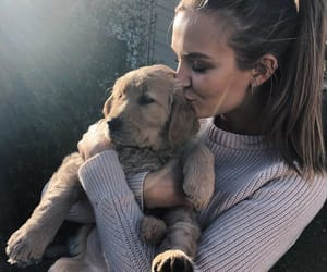 josephine skriver, dog, and model image