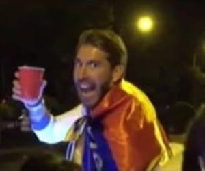 drunk, real madrid, and sergio ramos image