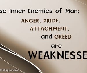 anger, deceit, and pride image