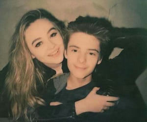 sabrina carpenter, corey fogelmanis, and girl meets world image