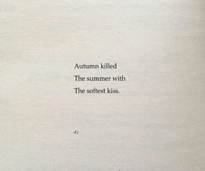 autumn, summer, and text image