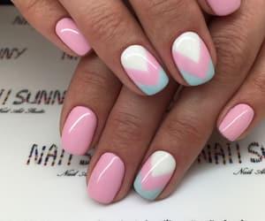 nail art, pastel colors, and nail polish image