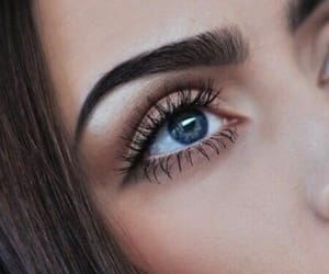 beauty, chic, and eyes image