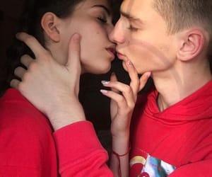 bad, boy, and kiss image