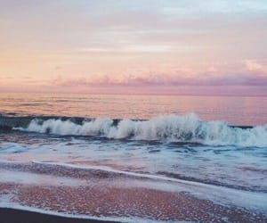 beach, scenery, and ❤ image