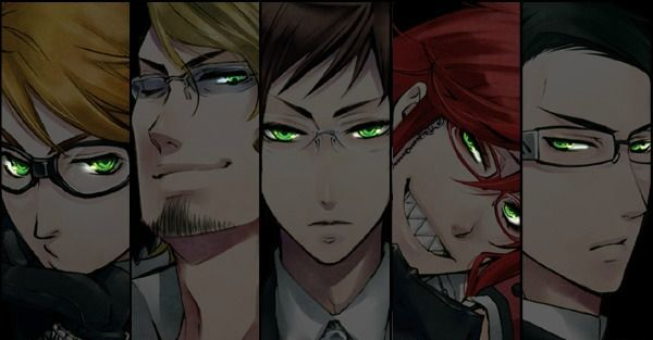 Anime Black Butler And Undertaker Image