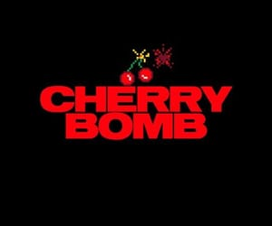 cherry, red, and bomb image