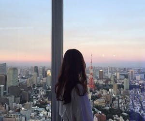 girl, city, and korean image