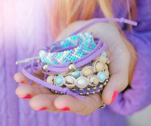Friendship bracelets arm candy Stackable bracelets by CarnivalLab