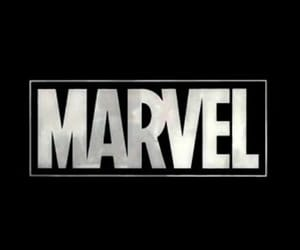 Marvel, header, and Logo image