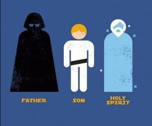 catholicism, darth vader, and funny image