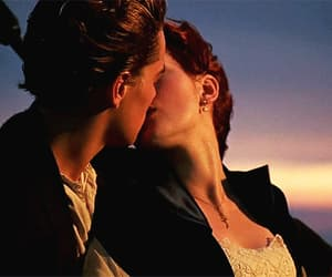 titanic, love, and kiss image