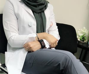 doctor, دكتور, and hijab image