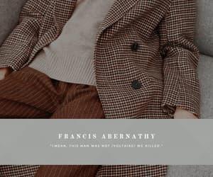 fashion, the secret history, and francis abernathy image