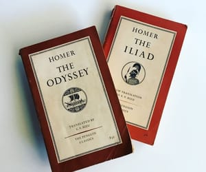 book, odyssey, and aesthetic image