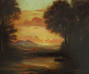 artwork, landscape, and nature image