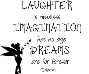 quotes, peter pan, and tinkerbell image