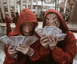 la casa de papel, netflix, and money image