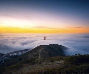 california, golden gate bridge, and photo image