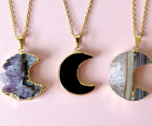 necklace and moon image