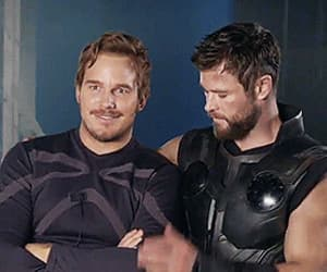 actor, Avengers, and behind the scenes image