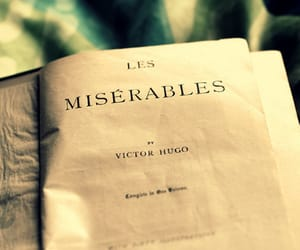 book and les miserables image