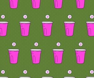 beer pong, pink, and secret image